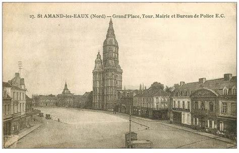 bureau amand les eaux 59 amand les eaux tour mairie et bureau de grand place 1944