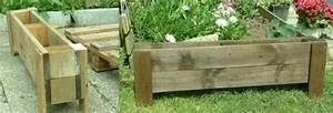 Fabriquer Bac A Fleur : construire une jardiniere affordable petit petit la table prend forme with construire une ~ Melissatoandfro.com Idées de Décoration