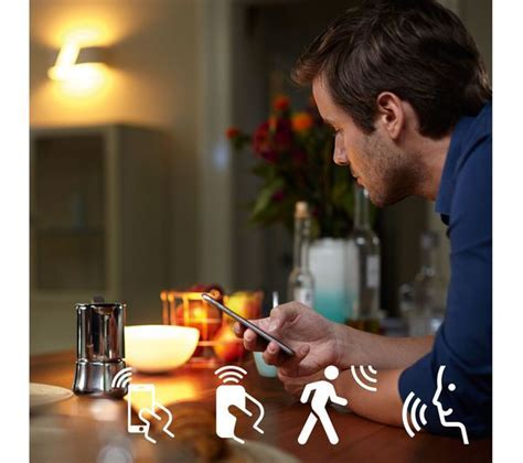 Buy PHILIPS Hue White Wireless Bulb   B22, Twin Pack