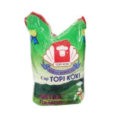 Harga Beras Merek Topi Koki jual topi koki beras setra ramos 5 kg harga