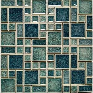 Crackle, Glass, Mosaic, Wall, Tile