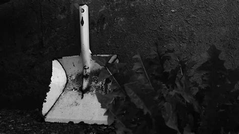 Dustpan As A Weapon  Creepy, Horror Footage  Free Stock