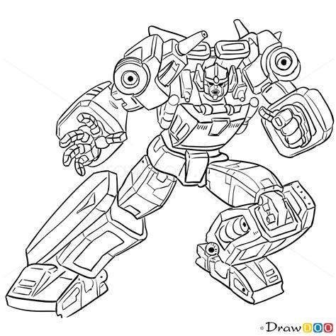 draw sunstreaker transformers