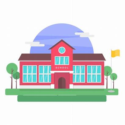 Building Illustration Schools Transparent Svg Classical Elementary