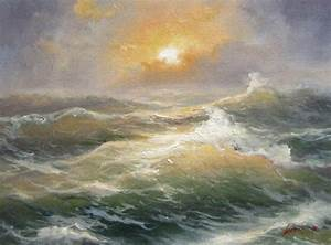 Popular Oil Painting Seascapes Techniques-Buy Cheap Oil
