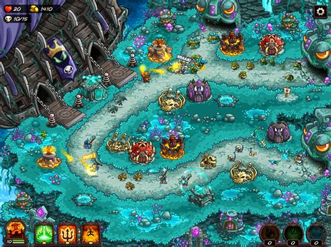 rush kingdom vengeance apk td android screen