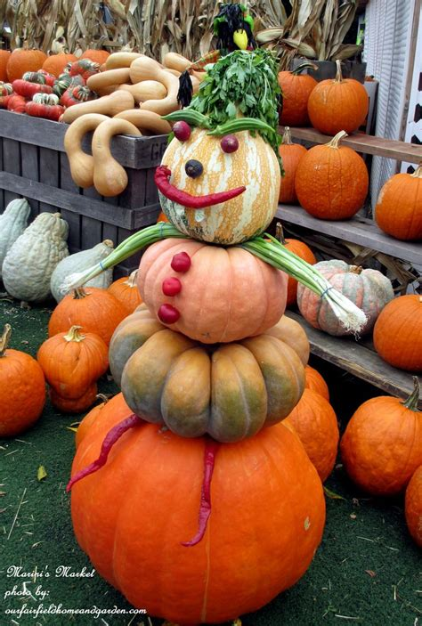 fall pumpkin decorations outside celebrate fall veggie man http ourfairfieldhomeandgarden com field trip gourds galore and