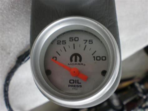 turbo boost vacuum gauge egt  oil pressure turbo