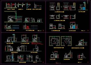 Handicap facilities】★-CAD Library AutoCAD Blocks