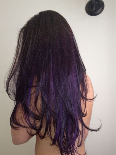 1000 Images About Hair On Pinterest Purple Hair