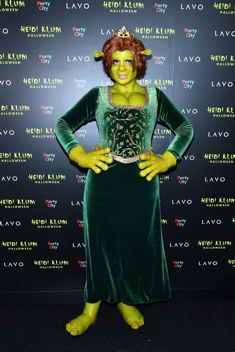 heidi halloween costumes klum costume celebrity celeb fiona cosplay shrek princess recent years zoom dress actors adult