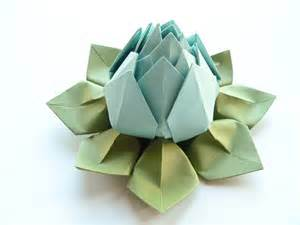 green baby shower decorations origami lotus flower in robin 39 s egg blue and moss by