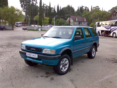 opel frontera 1995 1995 opel frontera a pictures information and specs