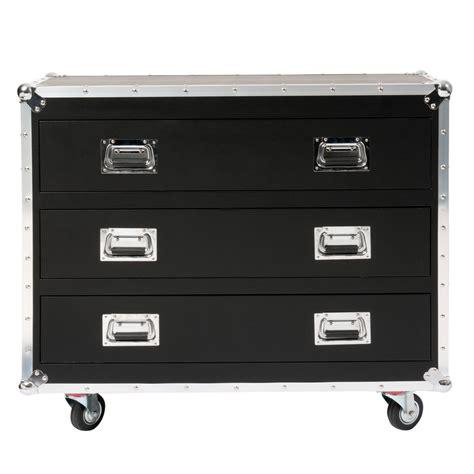 etagere chambre ado meuble cd dvd à roulettes en bois noir h 88 cm cinéma