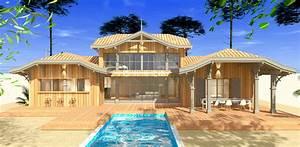 Maison En Bois Construction : construction d 39 une maison bois traditionnelle a la teste mcc construction ~ Melissatoandfro.com Idées de Décoration