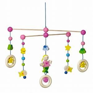 Mobile Pour Bébé : jouets en bois mobile en bois heimess sir ne jouet en bois ~ Teatrodelosmanantiales.com Idées de Décoration