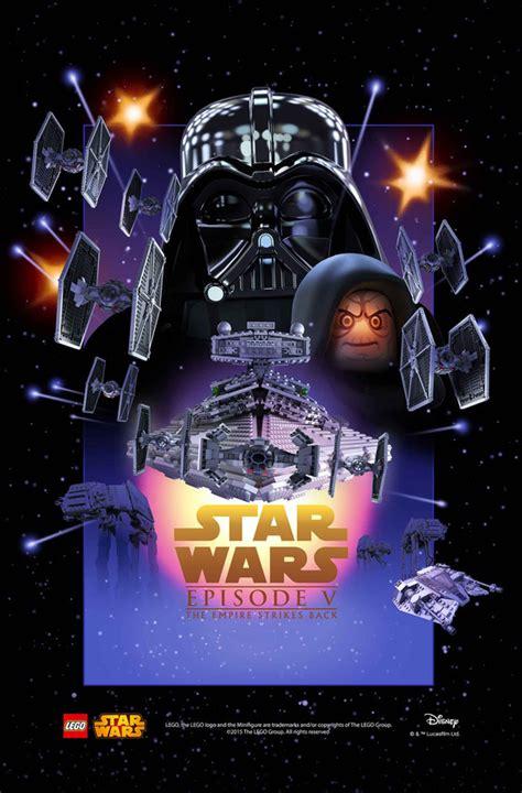 toutes les affiches star wars recrees en lego