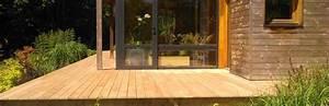 amenagement exterieur koateco construction With maison bois sur plots 2 terrasse sur plots trelevern koateco construction