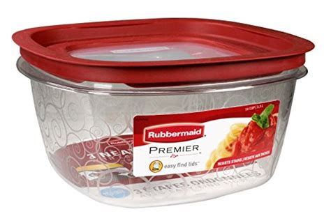 Rubbermaid 14 Cup Clear Stain And Odor Resistant Kitchen
