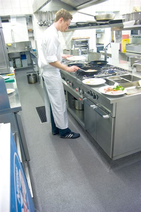 Commercial Kitchen Flooring Requirements  Kitchen