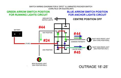 Nav Anchor Light Switch Connection With Pic Page