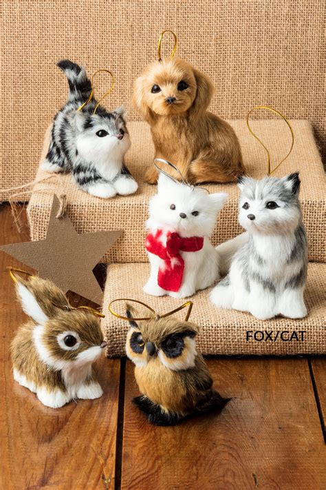 furry animal decorations set    shop ezibuy home