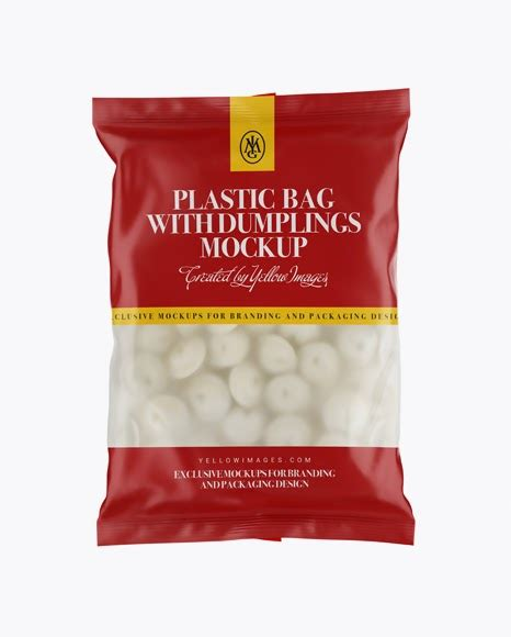 Bags and totes come in handy for a variety of purposes in the business world. Frosted Plastic Bag With Dumplings & Matte Finish Mockup ...
