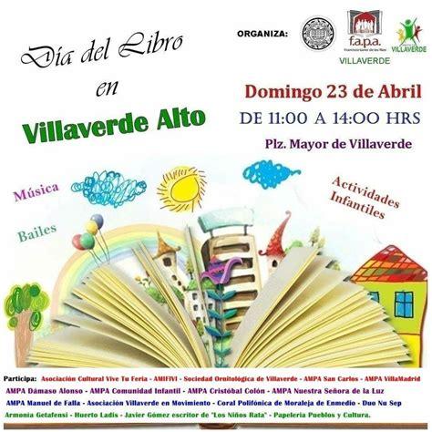 23 de Abril, día del libro en Villaverde Alto.
