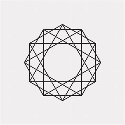 Geometric Mandala Minimal Designs De15 Every Dailyminimal