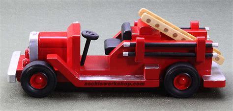 wood fire truck plans plans diy   mission