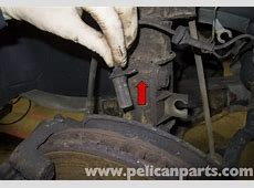 Volvo V70 ABS Wheel Speed Sensor Replacement 19982007