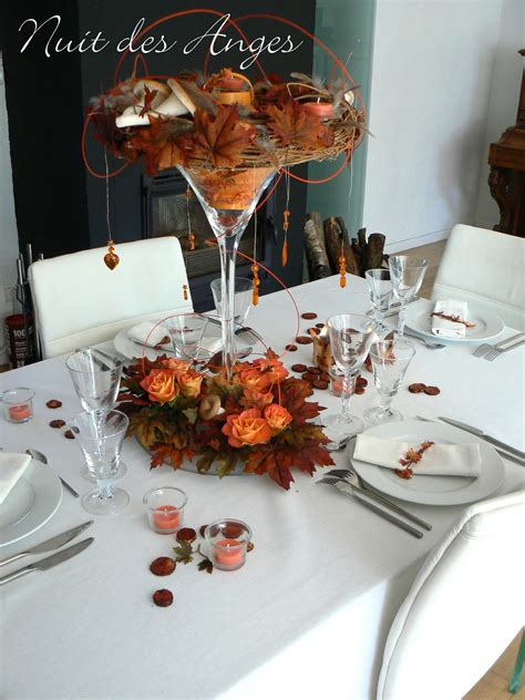 decoration table automne mariage
