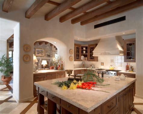 rustic kitchen island custom home desert mountain scottsdale az southwestern