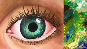Best Way To Paint An Eye With Acrylics