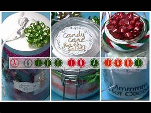 Holiday DIY A Gift in a Jar 3 Easy & Inexpensive Present