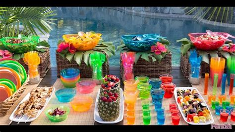 beach party decoration ideas  adults adult birthday