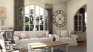 Meuble Style Campagne Chic : deco campagne chic salon accueil design et mobilier ~ Teatrodelosmanantiales.com Idées de Décoration