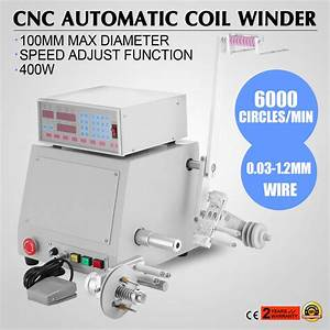 110v Computer Cnc Automatic Coil Winder Winding Machine