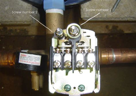 wire    pumptrol pressure switch   deep