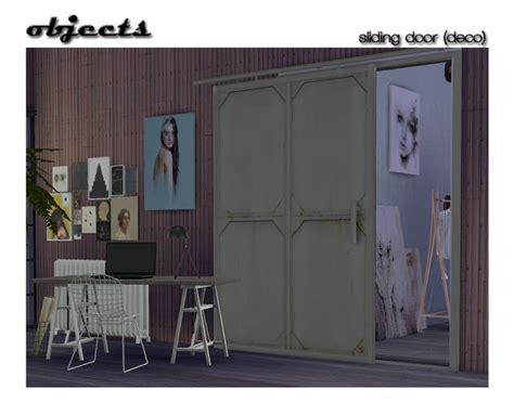 Sliding Door Deco At Shojoangel » Sims 4 Updates