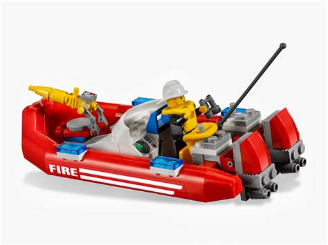 Lego Fire Truck And Boat by Bricker Construction Toy By Lego 7213 Fire Truck With Boat