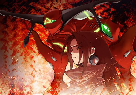 spirit  fire shaman king zerochan anime image board