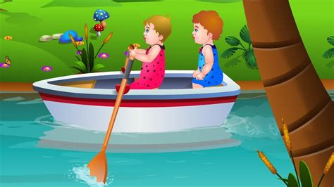 Row Row Your Boat Abc Kid Tv by Row Row Row Your Boat Nursery Rhyme With Lyrics Lullaby