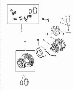 2002 Chrysler 300m Compressor  U0026 Related Parts