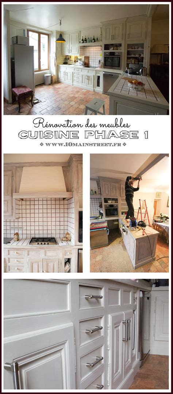 renovation meubles de cuisine cuisine phase 1 rénovation des meubles de cuisine
