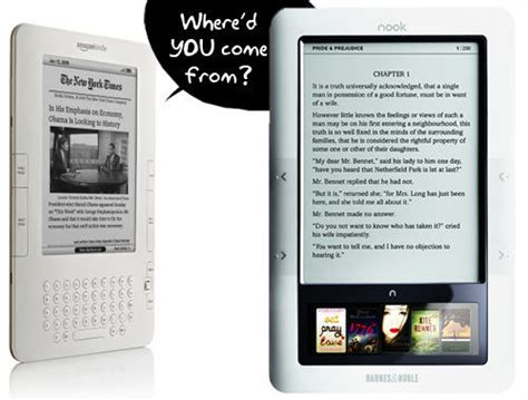 Barnes & Noble Compares Nook To Kindle 2