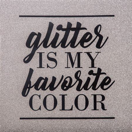 black is my favorite color glitter is my favorite color canvas wall 20 x 20 in