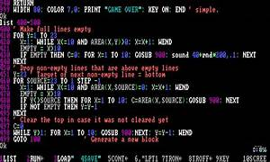 How To Basic : writing a tetris clone in gw basic tandy 1000 programming example youtube ~ Buech-reservation.com Haus und Dekorationen