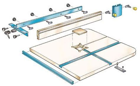 homemade bandsaw fence woodworking projects plans
