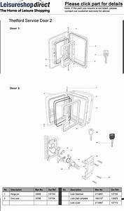 Thetford Service Doors   Spare Parts
